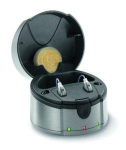 Chargeur appareil auditif